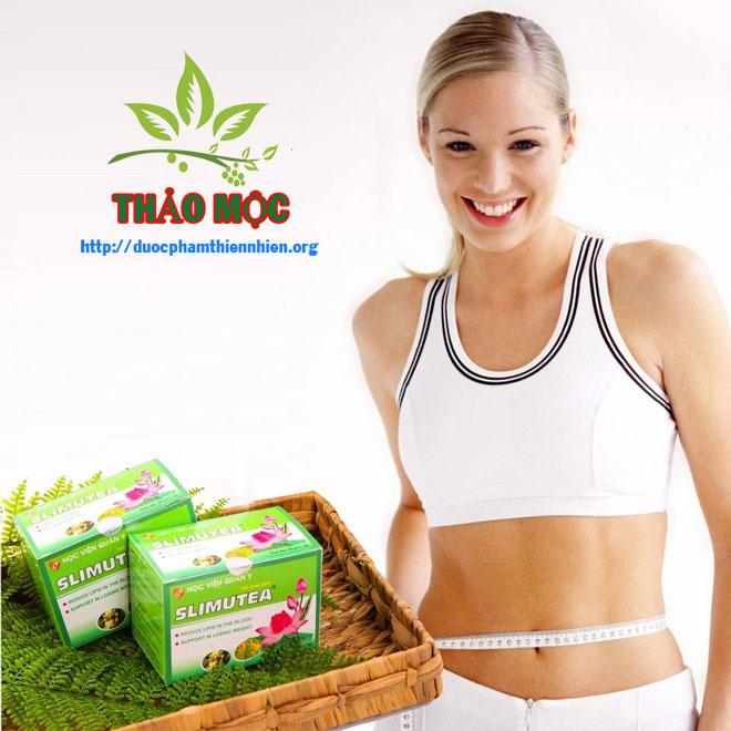 trà giảm béo slimutea