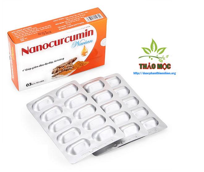 NANO CURCUMIN Navian giảm đau dạ dày tá tràng
