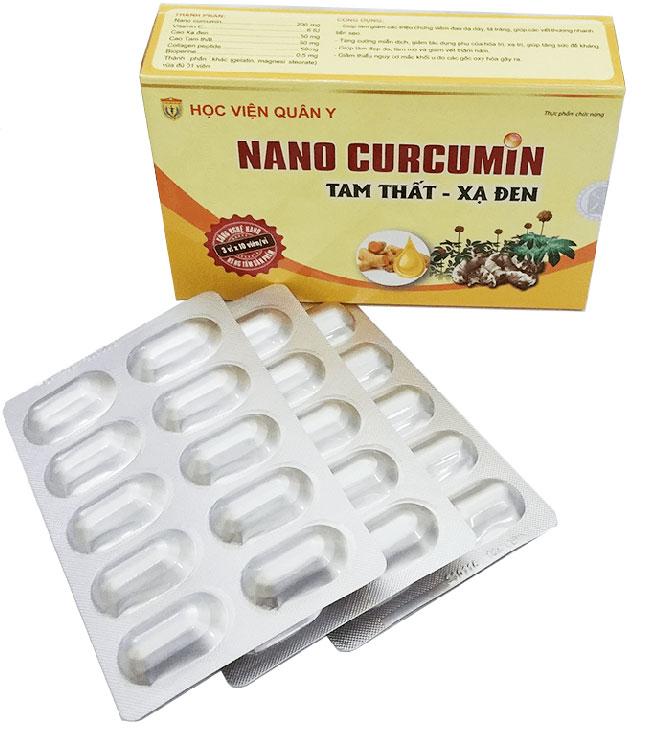 nano curcumin tam thất xạ đen mua ở đâu