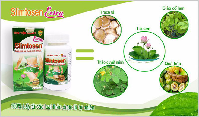 thuốc giảm cân slimtosen